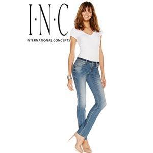 INC International Concepts Straight-Leg Jeans